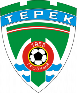 Знак ФК «Терек» Грозный (2004)