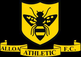 Эмблема Alloa Athletic