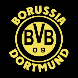 Черная эмблема ФК «Боруссия» (Дортмунд)