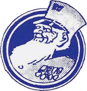 Логотип «Челси» с пенсионером