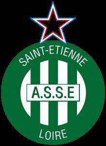 Логотип ФК «Сент-Этьен» (Сент-Этьен)