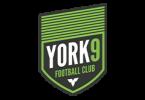Логотип ФК «Йорк 9» (Торонто)